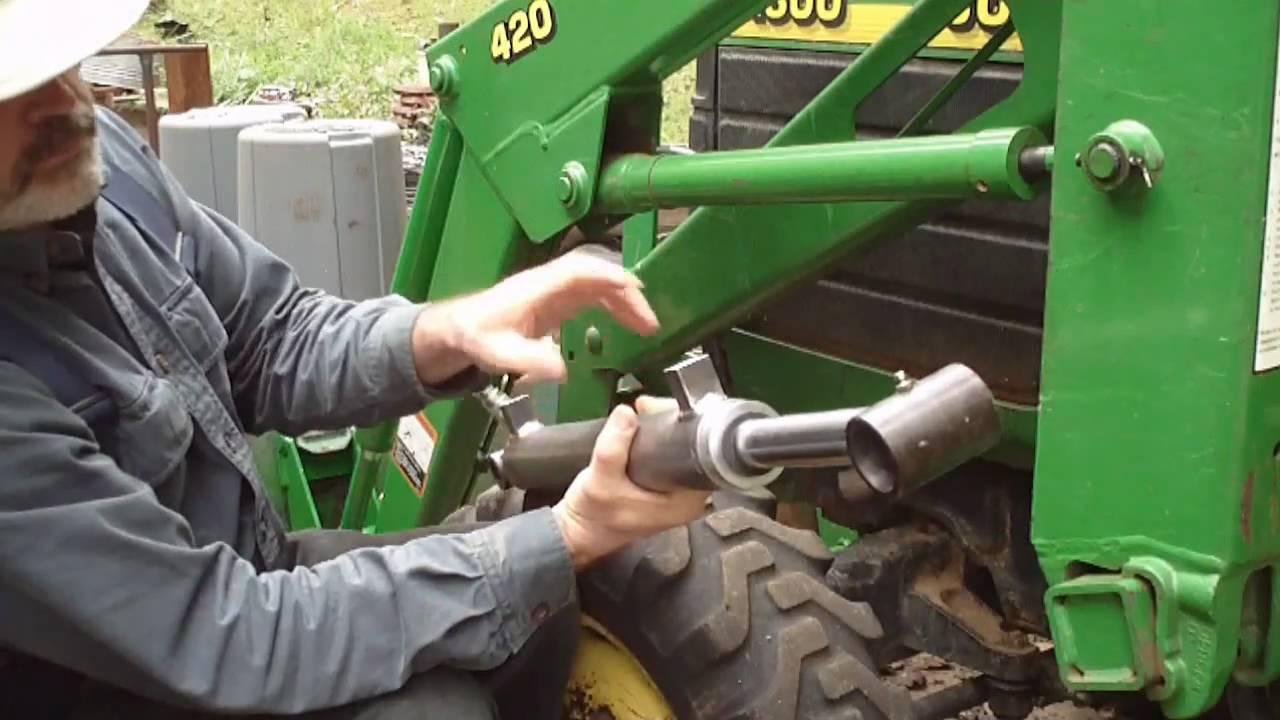 Upgrading John Deere (FEL) Loader Cylinders Part 1  YouTube