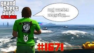 GTA 5 ONLINE Piratenjagd geht wieder schief #1671 Let´s Play GTA V Online PS4 YU91