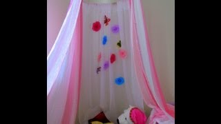 How To Make A No Sew Canopy Tent Diy Kid's Canopy Play Tent