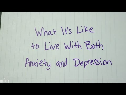 What It's Like Living With Both Anxiety and Depression