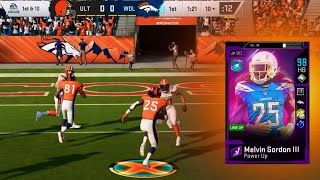 MELVIN GORDON TO THE BRONCOS! - MADDEN 20 ULTIMATE TEAM