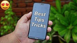 Hidden Tips/Tricks for Nokia 6.1 Plus/ 7.1/8.1 : Simply Amazing ❤️