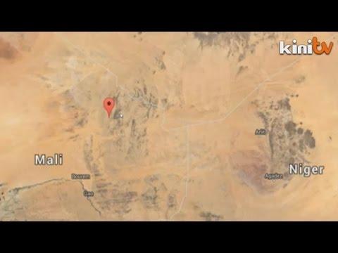 Bangkai pesawat Air Algerie ditemui di utara Mali