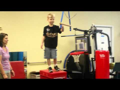 Finley at PT Today with Mrs. Sara (Full Clip)