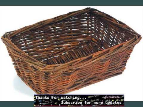 small wicker baskets wicker furniture ideas youtube. Black Bedroom Furniture Sets. Home Design Ideas