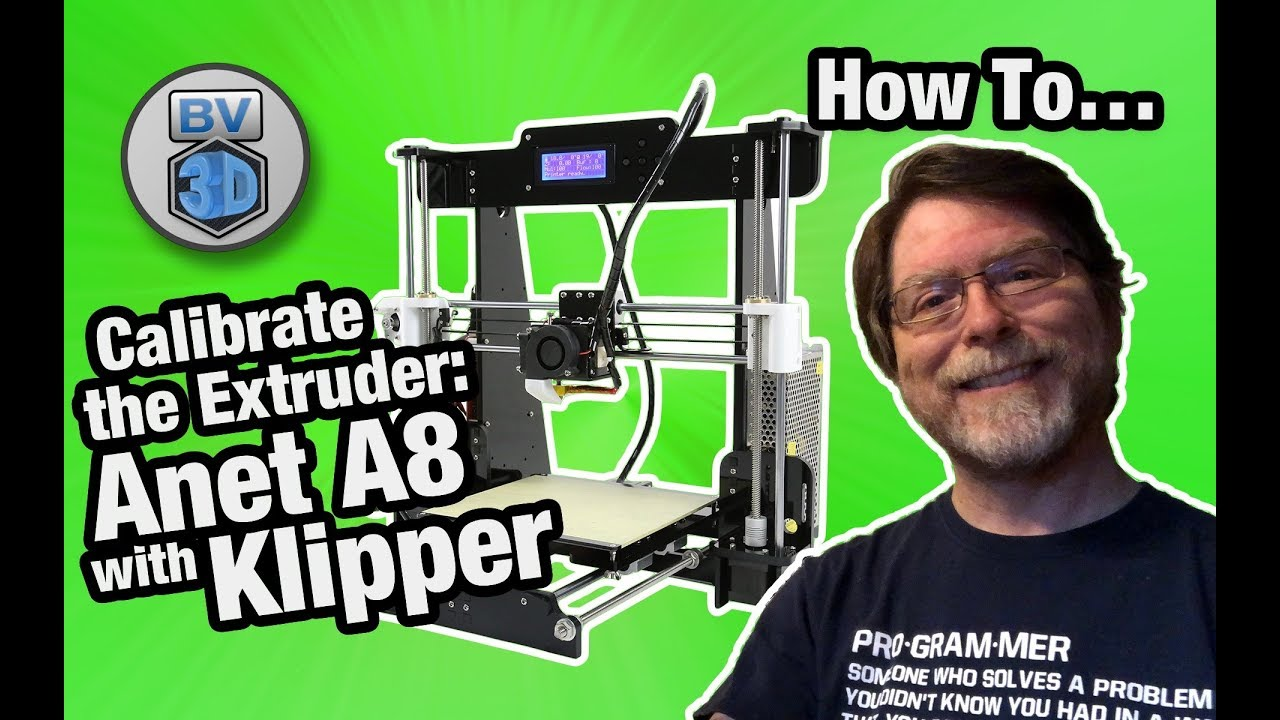 How To Calibrate the Extruder on an Anet A8 with Klipper Firmware