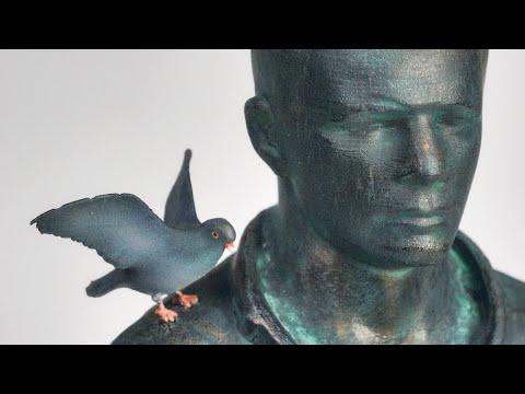 Фигура памятника Юрию Гагарину   ASMR   «Прости же нас, Юра»