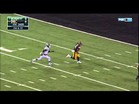 Beathard Hits Smith for 85-YD TD vs. Michigan State