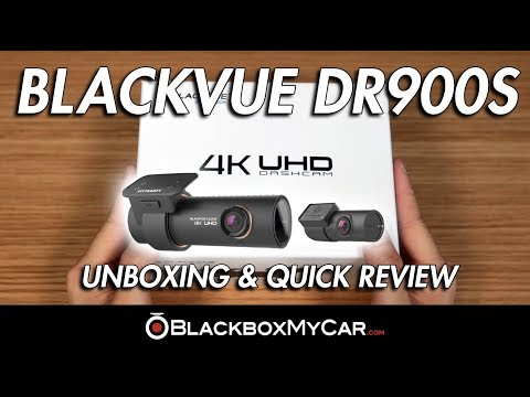 DR900S 4K UHD Dash Cam Unboxing & Quick Review - BlackboxMyCar