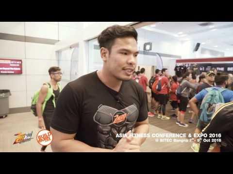 Body Hero พาทัวร์ Asia Fitness Conference & Expo 2016