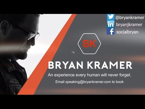 Digital Marketing Keynote Speaker | Social Business Strategist | Bryan Kramer