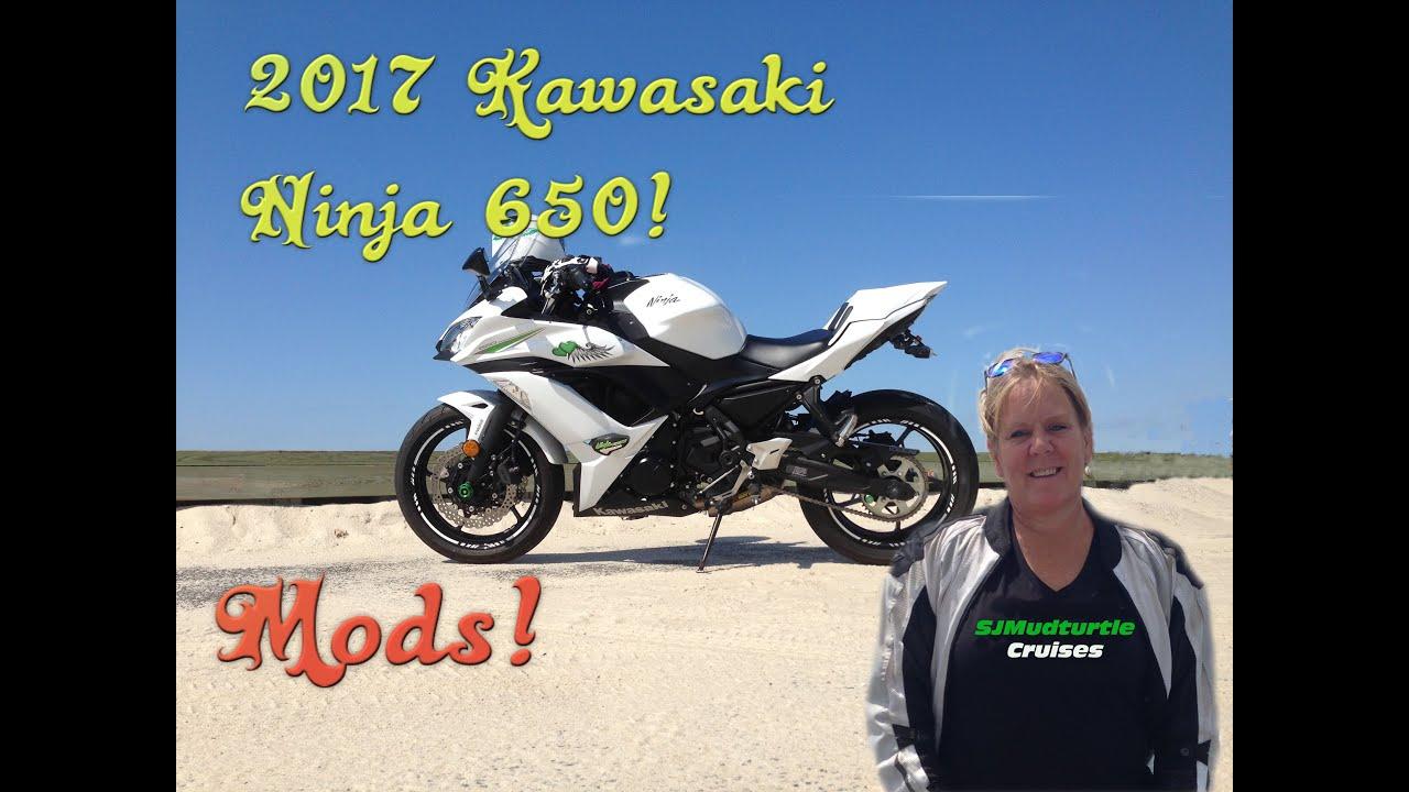 2017 Kawasaki 650 Ninja Mods