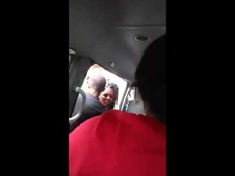 Women fighting on bus Grenada