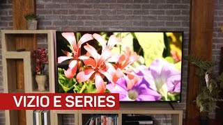 Vizio E series gives great picture quality for the money, but isn't very smart