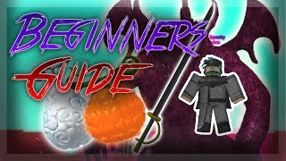 BEGINNERS GUIDE! | STEVE'S ONE PIECE | Roblox