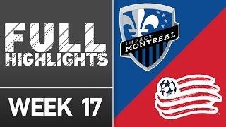 HIGHLIGHTS: Montreal Impact vs. New England Revolution | July 2, 2016
