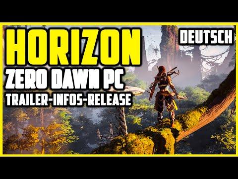Horizon Zero Dawn PC Trailer-Deutsch Infos-Release Datum-Complete Edition 2020 PC Version