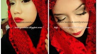 Red Lips Makeup tutorial Thumbnail
