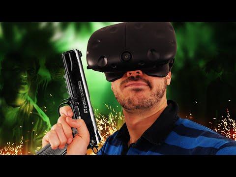 COMMENT FRACASSER DES ZOMBIES ! Zombie Simulator HTC Vive