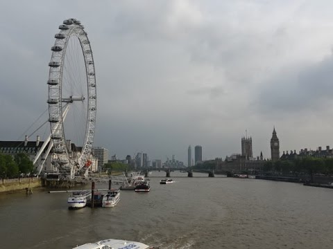 london eye bigwheel ride london uk youtube