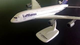Video Lufthansa A380-800 Review (Herpa model 1:250) download MP3, 3GP, MP4, WEBM, AVI, FLV Agustus 2018