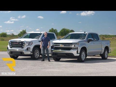 Comparing 2019 Chevy Silverado 1500 and 2019 GMC Sierra 1500