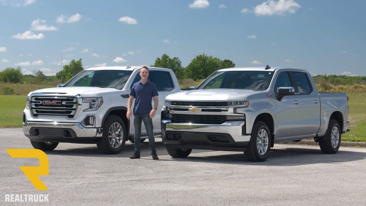 Comparing 2019 Chevy Silverado 1500 And 2019 Gmc Sierra 1500 Youtube