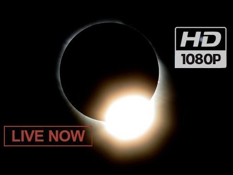 ECLIPSE LIVE NOW! 🌒 Total Solar Eclipse