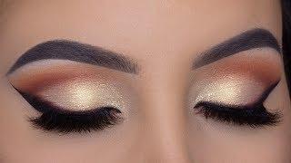 Classic Soft Golden Makeup Tutorial | Perfect Bridal Eye Makeup