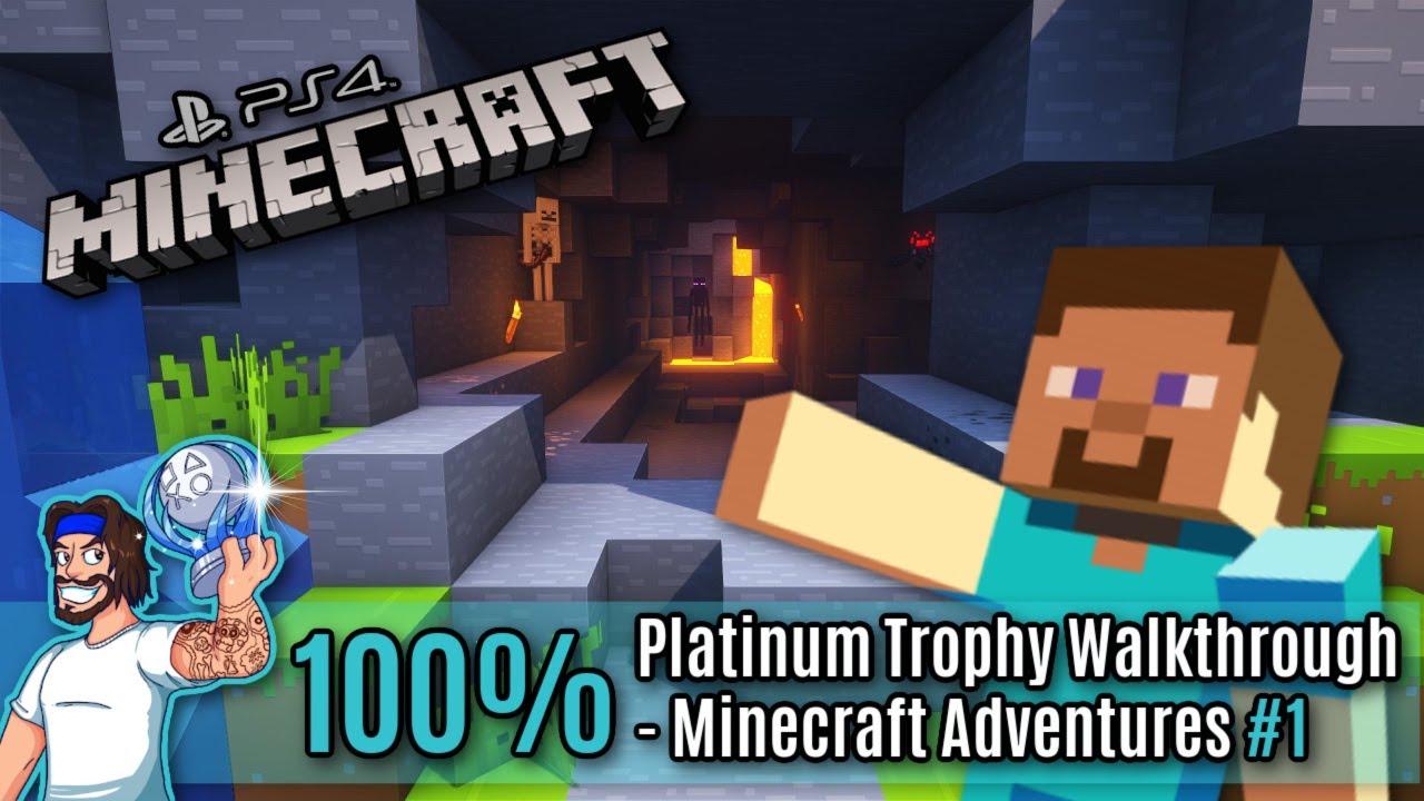 Download Minecraft (PS4) Platinum Trophy Walkthrough - All Minecraft (PS4) Trophies Guide - Part 1