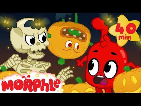 Halloween Comes To Life!! - My Magic Pet Morphle | Cartoons For Kids | Morphle TV | BRAND NEW