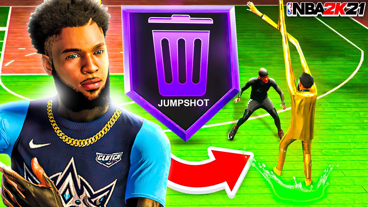 i Tested UGLY JUMPSHOTS with 100 Foot LONG ARMS on NBA 2K21 (BAD IDEA)