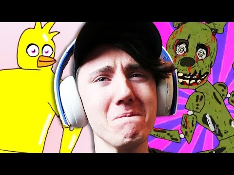 Five Nights at Freddy's - Try Not To Cringe