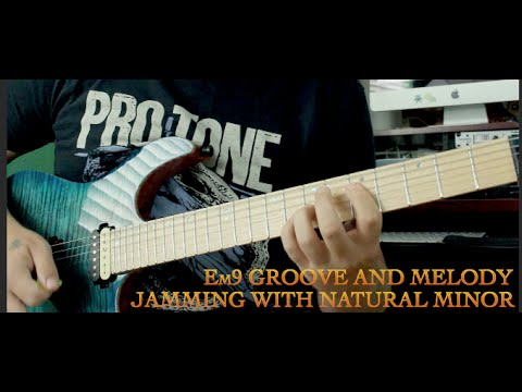 Aeolian Mode (Natural Minor) Lick - Em9 Groove - YouTube