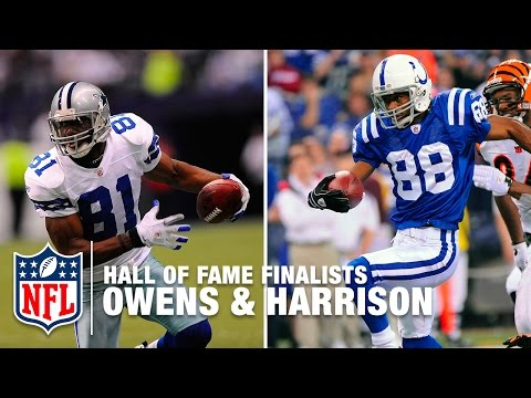 Terrell Owens & Marvin Harrison: Different Styles, Similar Impact | Hall Of Fame Finalists | NFL