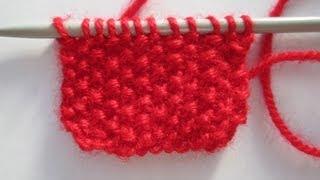 comment tricoter maille de riz