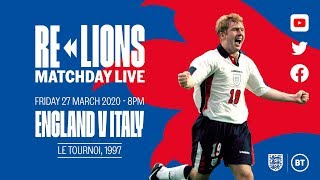 England v Italy FULL MATCH Le Tournoi 1997 ReLions