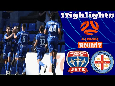 Newcastle Jets Melbourne City Goals And Highlights