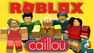 Caillou joins Roblox