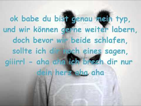 Cro - Sorry Girl [Lyrics+HQ]