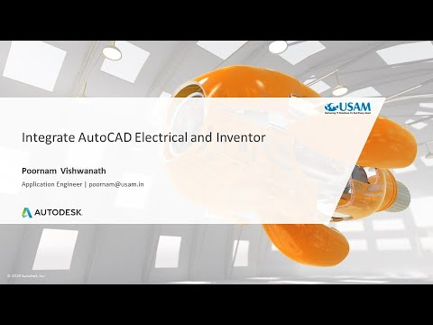 AutoCAD Electrical and Inventor - Integration