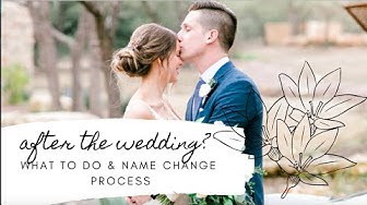 What to do After Marriage? & Name Change Process!