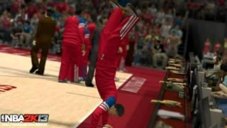NBA 2K13 My Career / My Player: Pre Game Rituals | Handstand Screenshot