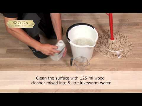 WOCA Wood Cleaner