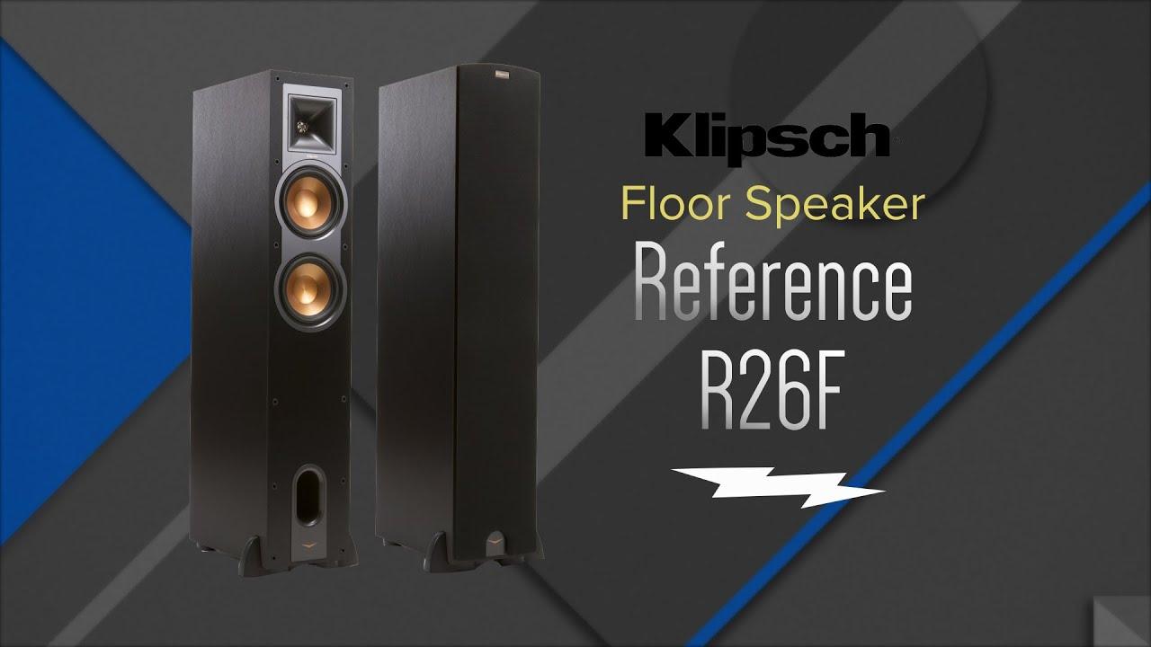 Unboxing Klipsch Reference R 26f Black Floorstanding Speaker Enclosure Surround Sound Loudspeaker On Wiring Home For