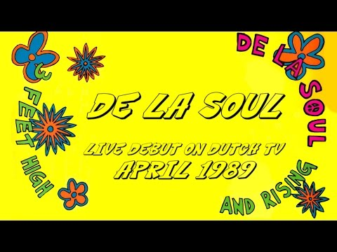 De La Soul - Live Debut On Dutch TV (1989) incl. Me Myself And I + interview and funny quiz