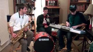 Calabria (Firebeatz Remix) | Tenor Sax and Keyboard Cover | (Plus Nick)