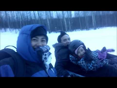 Liklik fam bond - Tubing @ Kinosoo Ridge Snow Resort (Cold Lake)
