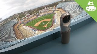 vuclip 360 VIDEO of a Dodgers Game through the LG 360 CAM