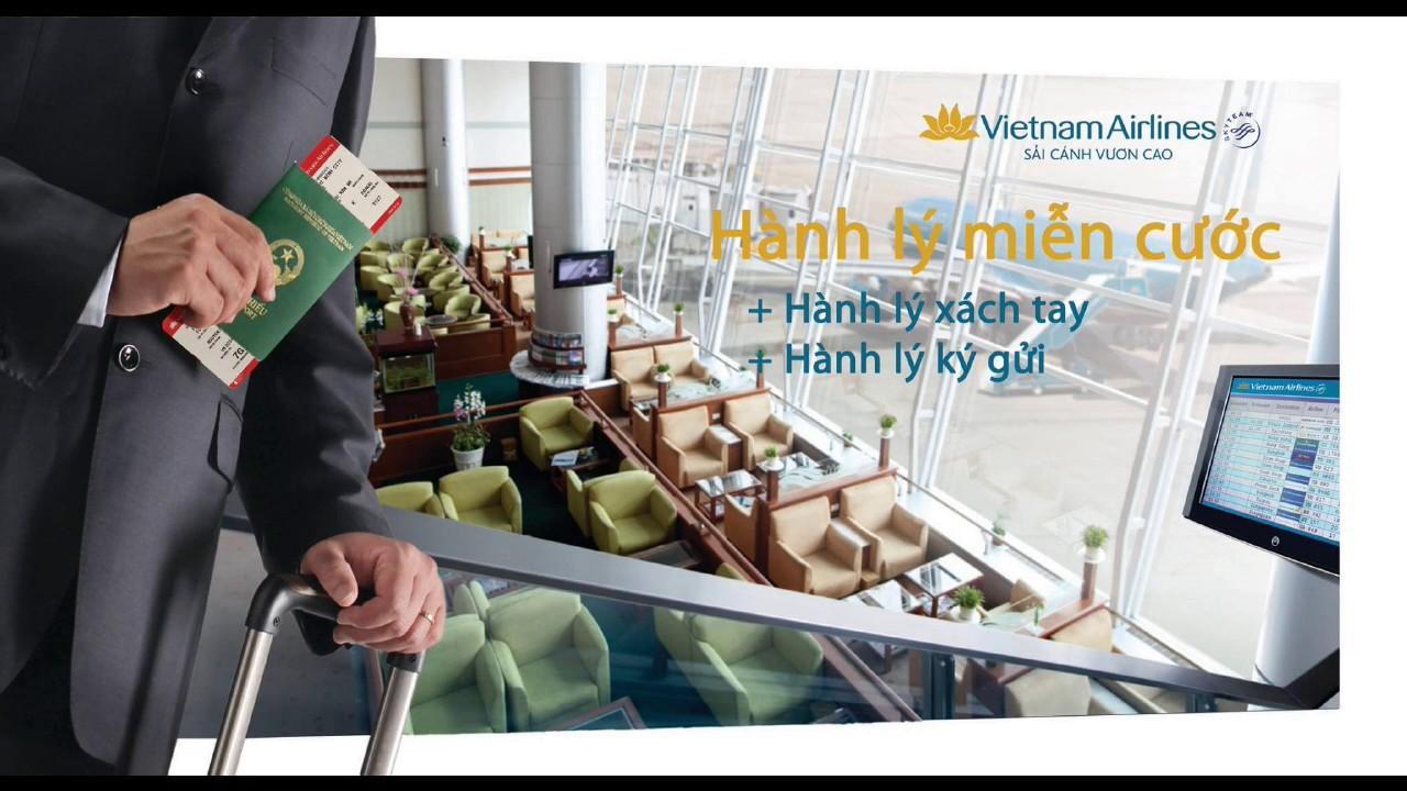 Vietnam airlines được mang bao nhiêu kg hành lý